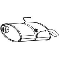 BOSAL Silencieux arrière PEUGEOT 406 (190-343)