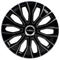 """Comparateur de prix WRC 7468 Enjoliveurs 14"""""""" bicolore, Pouces, Set de 4"""