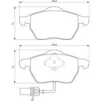 Comparateur de prix BOSCH Jeu de 4 plaquettes de frein BOSCH 0 986 494 050