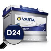 Comparateur de prix VARTA Batterie Auto D24 (+ droite) 12V 60AH 540A