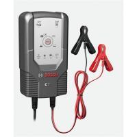 Bosch Chargeur de batterie C7 12/24 Volt 14-230 Ah 7 Ampères noir
