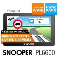 comparateur de prix GPS Poids lourds SNOOPER PL6600 - carto gratuite à vie