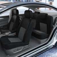 DBS Housse de siège Auto/Voiture - sur Mesure - Finition Haut de Gamme - Montage Rapide - Compatible Airbag - Isofix - 1011529