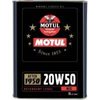 Motul 102740 Classique Huile 20 W50 2 Litre