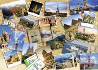 Comparateur de prix Nathan Puzzle 1000 pièces : Monuments du monde