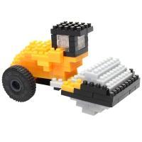 Comparateur de prix Brixies Nano Puzzle 3D - Rouleau Compresseur JCB 110 pièces