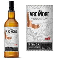 Comparateur de prix The Ardmore Legacy Highland Single Malt Scotch Whisky (1 x 0.7l)
