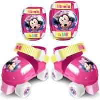 Stamp - Patins a Roulettes + Protections - Minnie