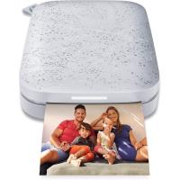"""Comparateur de prix HP Sprocket Portable 2x3"""""""" Instant Photo Printer (Luna Pearl) Print Pictures on Zink Sticky-Backed Paper from your iOS & Android Device"""