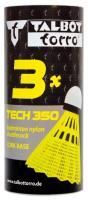 Comparateur de prix Volants de badminton TECH 350, jupe: jaune, vitesse: vert/lent