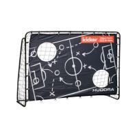 Comparateur de prix HUDORA Trainer Edition Matchplan de Football pour Enfant et Adulte avec Panneau de Porte Motif Kicker Noir 213 x 152 x 76 cm