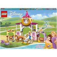 43195 belle and rapunzel's royal, lego® disney princess 43195