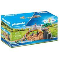Comparateur de prix Playmobil 70343 - Famille de lions avec végétation