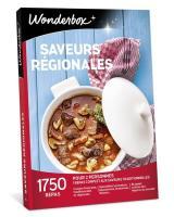 Wonderbox Coffret cadeau - Saveurs régionales - Restaurant & Gastronomie