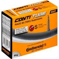 Continental Supersonic Chambre à air Mixte Adulte, Noir, 700x20/25C (18-622 à 25-630)