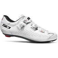 Comparateur de prix Sidi Genius 10 Road Shoes 2020 - Blanc/Blanc - EU 47