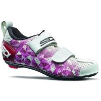 Comparateur de prix Sidi Women's T-5 Air Triathlon Shoes 2020 - Rose-Jester Red-White - EU 40