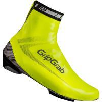 Comparateur de prix GripGrab Überschuhe Raceaqua Couvre-Chaussures pour vélo de Course Mixte-Adulte, Jaune (Hi-Vis), M (40-41)