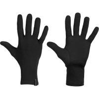 Icebreaker Sous-gants Oasis Liners Bonnets / Gants S Noir