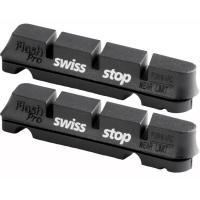 Comparateur de prix Swiss Stop Flash Pro Patins de Frein Mixte Adulte, Noir