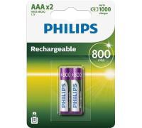 comparateur de prix Batteries type AAA Philips R03B2A80/10