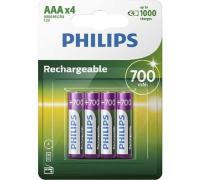 comparateur de prix Pile rechargeable Philips PILES RECHARGEABLE AAA LR03 700 MAH