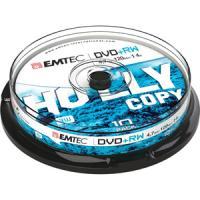 comparateur de prix EMTEC - DVD+RW x 10 - 4.7 Go - support de stockage