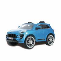 Comparateur de prix ROLLPLAY Voiture électrique enfant Porsche Macan Turbo 12V bleu