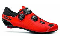 Comparateur de prix SIDI Genius 10 Chaussures de Cyclisme pour Homme, Noir Rouge Fluo, 43