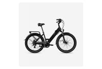 Comparateur de prix Legend Milano Vélo Électrique Ville Smart eBike Roues de 26 Pouces, Freins Disque Hydraulique, Batterie 36V 14Ah Panasonic (504Wh), Autonomie jusqu'à 100km, Noir Onyx