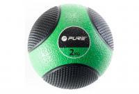 Comparateur de prix Pure2Improve P2I110000 Ballon d'exercice Mixte Adulte, Vert/Noir, 2 kg