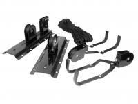 Comparateur de prix Support à vélo pour plafond Eufab 16411 acier noir