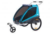 Comparateur de prix THULE Remorque de vélo enfant Coaster XT blue