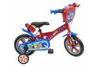 Comparateur de prix Vélo 12'' Pat'Patrouille équipé de 2 freins, Plaque avant décorative, Garde Boue, Carter, Stabilisateurs amovibles + Bidon
