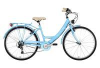 Vélos de ville KS Cycling Vélo de ville dame 26'' toscana 6 vitesses bleu clair tc 41 cm ks cycling