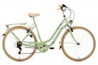 """Comparateur de prix Vélo de ville pour dame 28"""""""" Casino vert TC 53 cm 6V KS Cycling"""