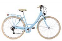 Comparateur de prix Velo de ville femme ks cycling toscana 28 shimano tourney 6v bleu unique 165 185 cm