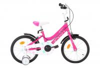 Comparateur de prix vidaXL Vélo pour enfants 16 pouces Noir et rose