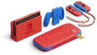 Console Nintendo Switch - Edition Limitée Mario - Paire de Joy-Con Rouge et Bleu