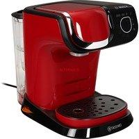 comparateur de prix BOSCH - TAS6503 Tassimo My Way 2 - Cafetière à capsule - Avec système de filtration BRITA et interface tactile - Personnalisation de boissons - 1500 W - 1,3 litre - Rouge
