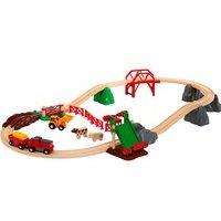 Comparateur de prix BRIO Animal Farm Set piste de jouet électrique Plastique, Bois, Train