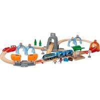 BRIO Smart Tech Tunnel Set piste de jouet électrique Plastique, Bois, Train