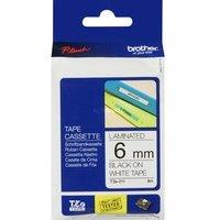 Comparateur de prix Conso imprimantes - BROTHER - Ruban noir/blanc - TZE-211