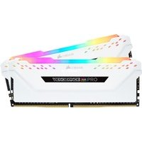 comparateur de prix CORSAIR Vengeance RGB PRO 16 Go 3000 MHz CAS 15 - Blanc
