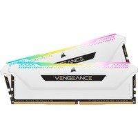 Mémoire PC Corsair CMH16GX4M2D3600C18W RGB (2x8Go DDR4 3600 PC28800)