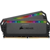 Comparer les prix du CORSAIR DOMINATOR PLATINUM RGB BLACK 16 Go 2x8 Go, 3000Mhz CL15