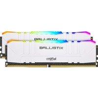 Comparer les prix du Ballistix White - 2 X 16 Go - DDR4 3000 Mhz - RGB - Blanc