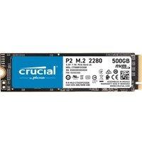 comparateur de prix Crucial P2 - Disque dur interne - SSD - PCIe 3.0 x4 NVMe - M.2 - 500 Go