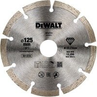 Comparateur de prix Dewalt DT3711-QZ DT3711-QZ-Disco de Diamante 125x22.2mm, Argent, 125mm