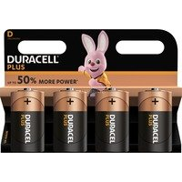 comparateur de prix Duracell Plus Power D (par 4)